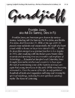 The Gurdjieff Journal - Issue #48