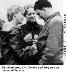 Set of Persona, Ingmar Bergman, Liv Ullmann, Faithless, Gurdjieff, Fourth Way