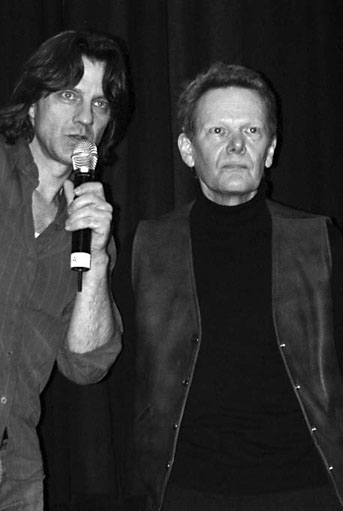 Director James Marsh and Phillipe Petit answer questions at the NYC premiere of Man on Wire