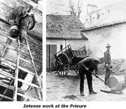 Work at the Prieure