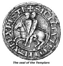 The seal of the Templars, Gurdjieff, Fourth Way, Holy Grail