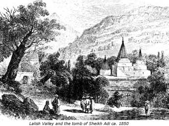 Lalish Valley and the tomb of Sheikh Adi, Gurdjieff, Yezidism, Fourth Way